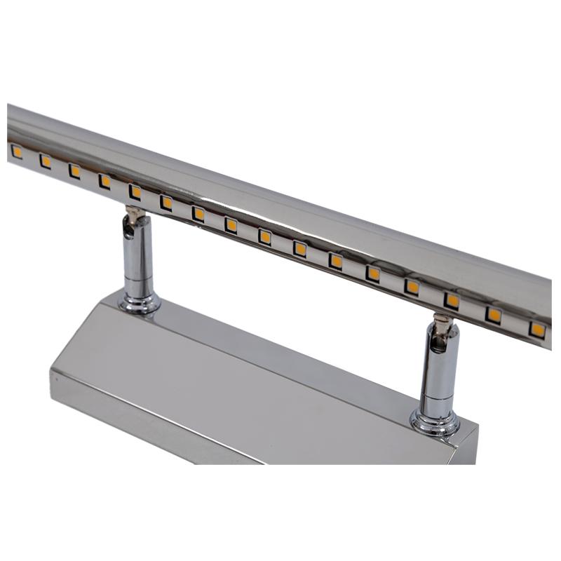 5050-SMD-21-LED-5W-Iluminacion-delantera-de-espejo-luz-pared-Acero-inoxidab7T9