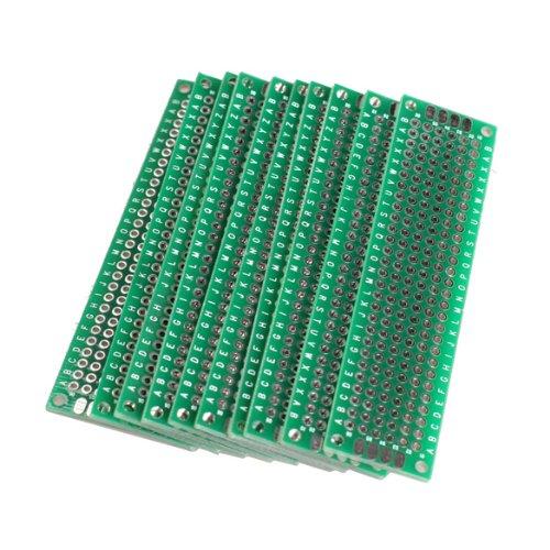 10x 2x8cm perforated grid board pcb strip pcb board circuit board rh ebay co uk U1 Circuit Boards how to use perforated circuit board
