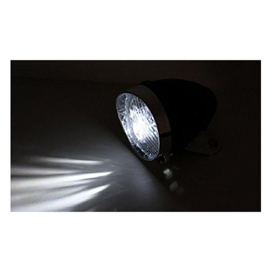 3-LEDs-Phares-avec-support-de-montage-du-velo-retro-accessoire-de-velo-I8V1 miniature 4