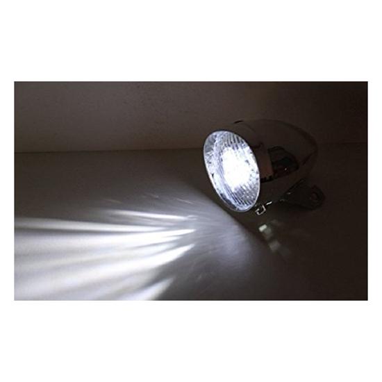 3-LEDs-Phares-avec-support-de-montage-du-velo-retro-accessoire-de-velo-I8V1 miniature 7