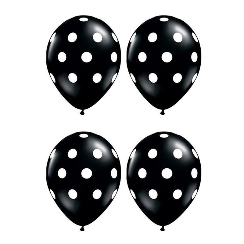 20-pc-12-pouces-Ballon-en-latex-a-pois-pour-la-decoration-de-la-fete-d-039-anni-D6U1 miniature 4