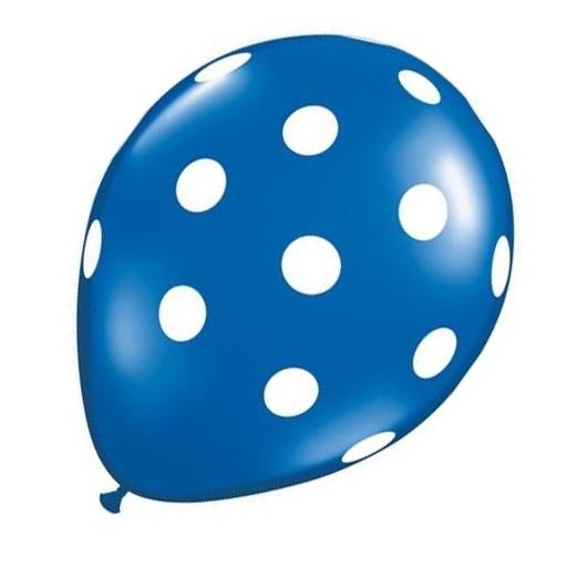 20-pc-12-pouces-Ballon-en-latex-a-pois-pour-la-decoration-de-la-fete-d-039-anni-D6U1 miniature 6