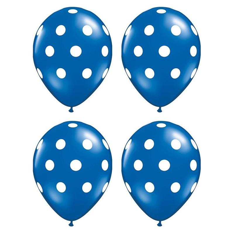 20-pc-12-pouces-Ballon-en-latex-a-pois-pour-la-decoration-de-la-fete-d-039-anni-D6U1 miniature 7