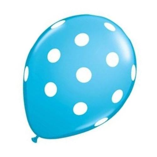 20-pc-12-pouces-Ballon-en-latex-a-pois-pour-la-decoration-de-la-fete-d-039-anni-D6U1 miniature 12