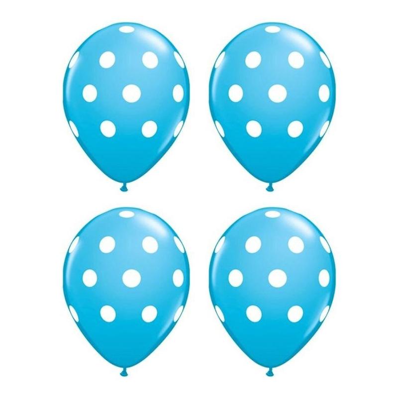 20-pc-12-pouces-Ballon-en-latex-a-pois-pour-la-decoration-de-la-fete-d-039-anni-D6U1 miniature 13