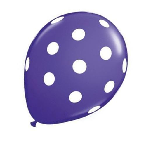 20-pc-12-pouces-Ballon-en-latex-a-pois-pour-la-decoration-de-la-fete-d-039-anni-D6U1 miniature 21
