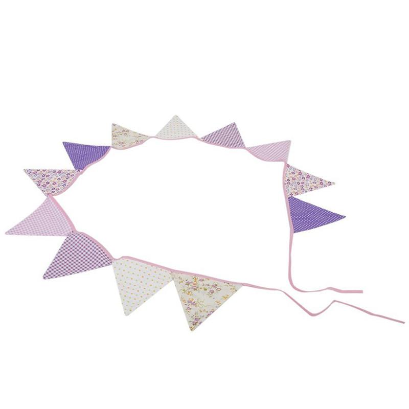 10pcs-guirlande-de-fanion-en-coton-guirlande-pour-la-decoration-A5H7 miniature 3