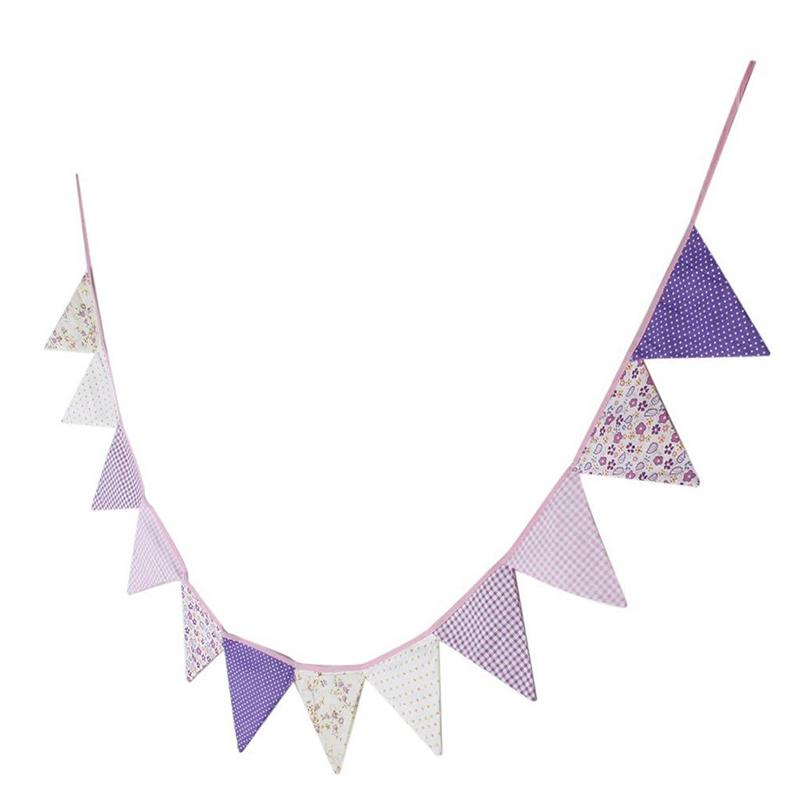 10pcs-guirlande-de-fanion-en-coton-guirlande-pour-la-decoration-A5H7 miniature 4