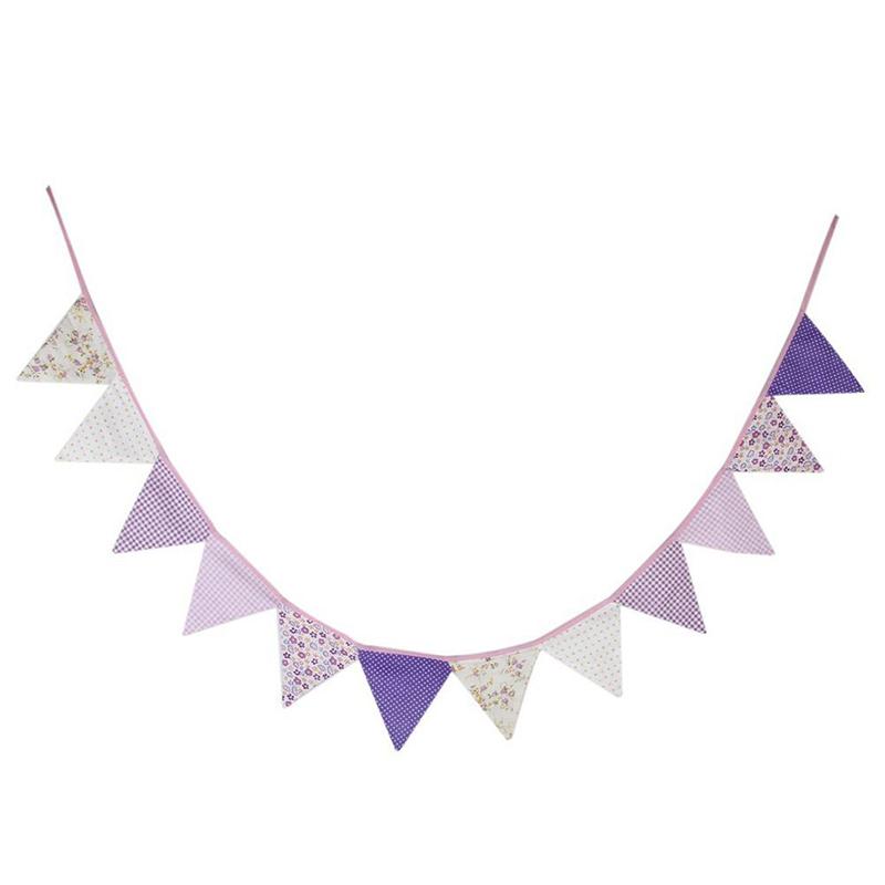 10pcs-guirlande-de-fanion-en-coton-guirlande-pour-la-decoration-A5H7 miniature 5