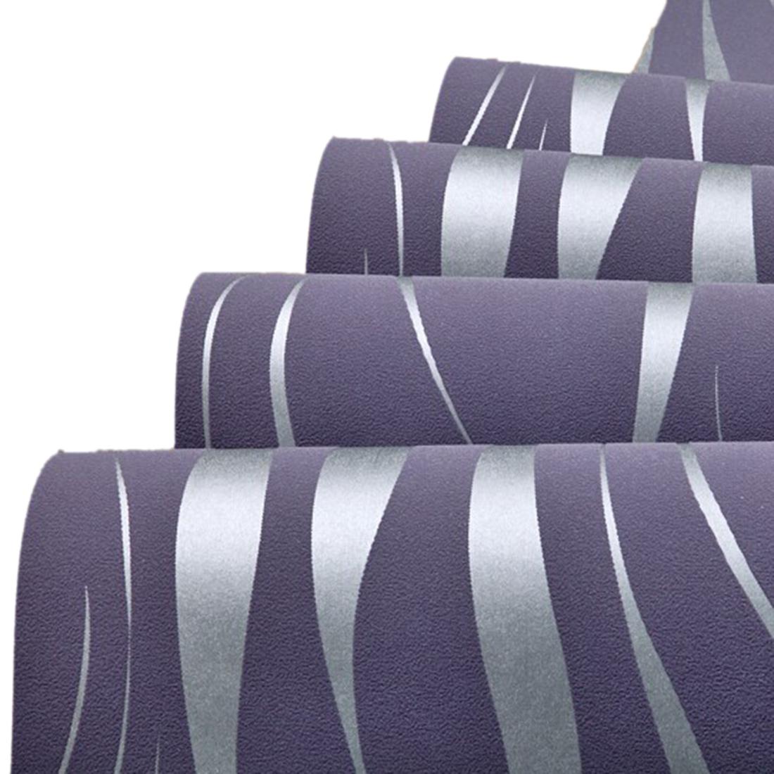 onde de bande non tisse papier peint fond violetm3j1 ebay. Black Bedroom Furniture Sets. Home Design Ideas