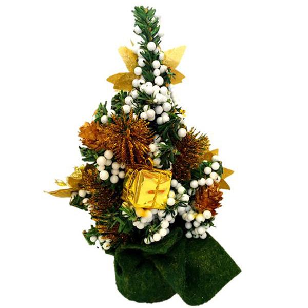 2X-Casa-arredamento-Scrivania-Piccolo-Mini-Albero-di-Natale-Ufficio-contato-W0Y8 miniatura 3