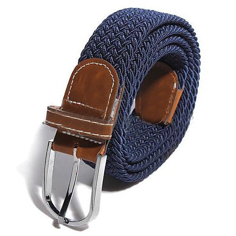 homme femme cuir boucle de ceinture en toile ceinture. Black Bedroom Furniture Sets. Home Design Ideas