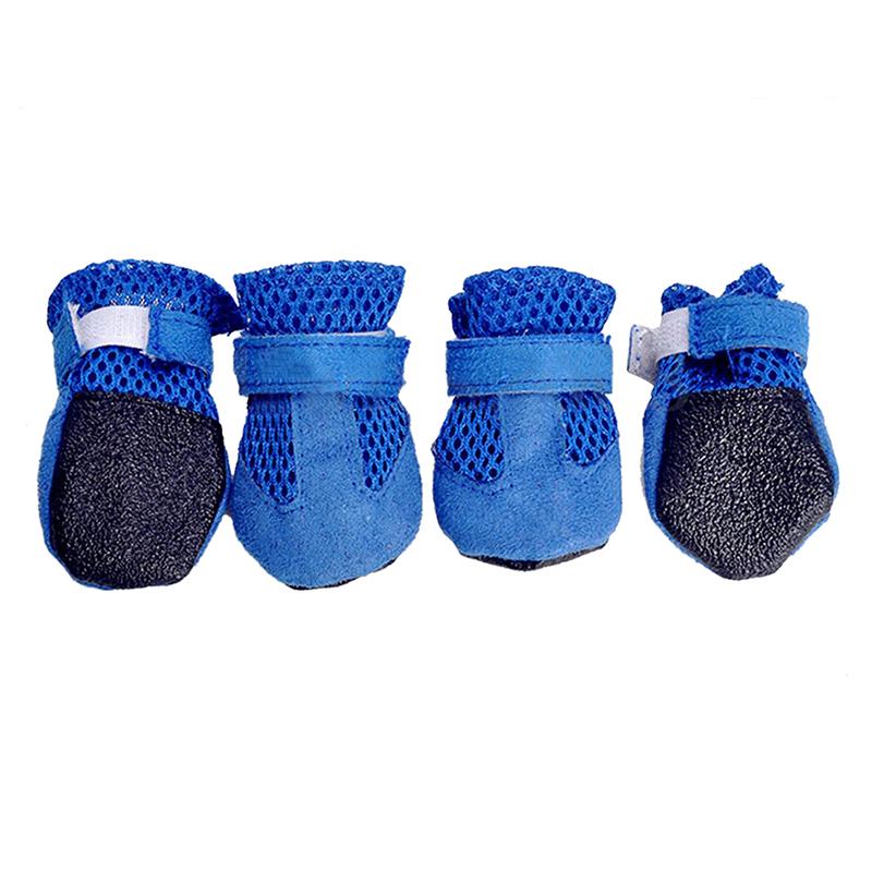 4-pcs-Shoes-Paw-Protection-Shoes-Safety-shoes-Booties-Pet-Boots-Blue-L-U3D8