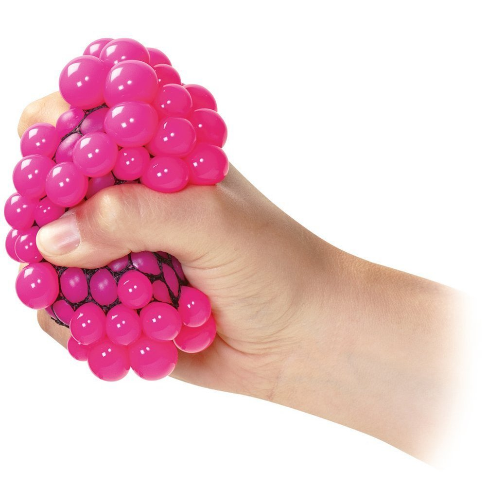 Squishy Toys Stress : KS Squishy Mesh Balls Fidget Stress Toys Squishes Kids Fun Play Squeezy Gripper eBay