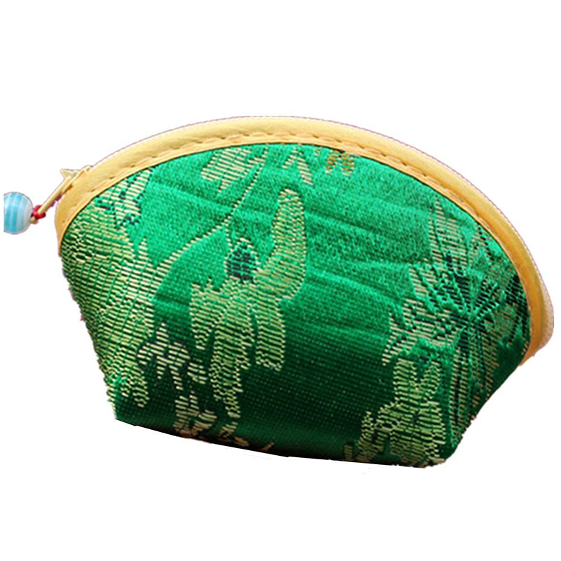Chinese-Silk-Embroidery-Wallet-Change-Coin-Bag-Handbag-Small-Purse-Pouch-Ra-X5Z3