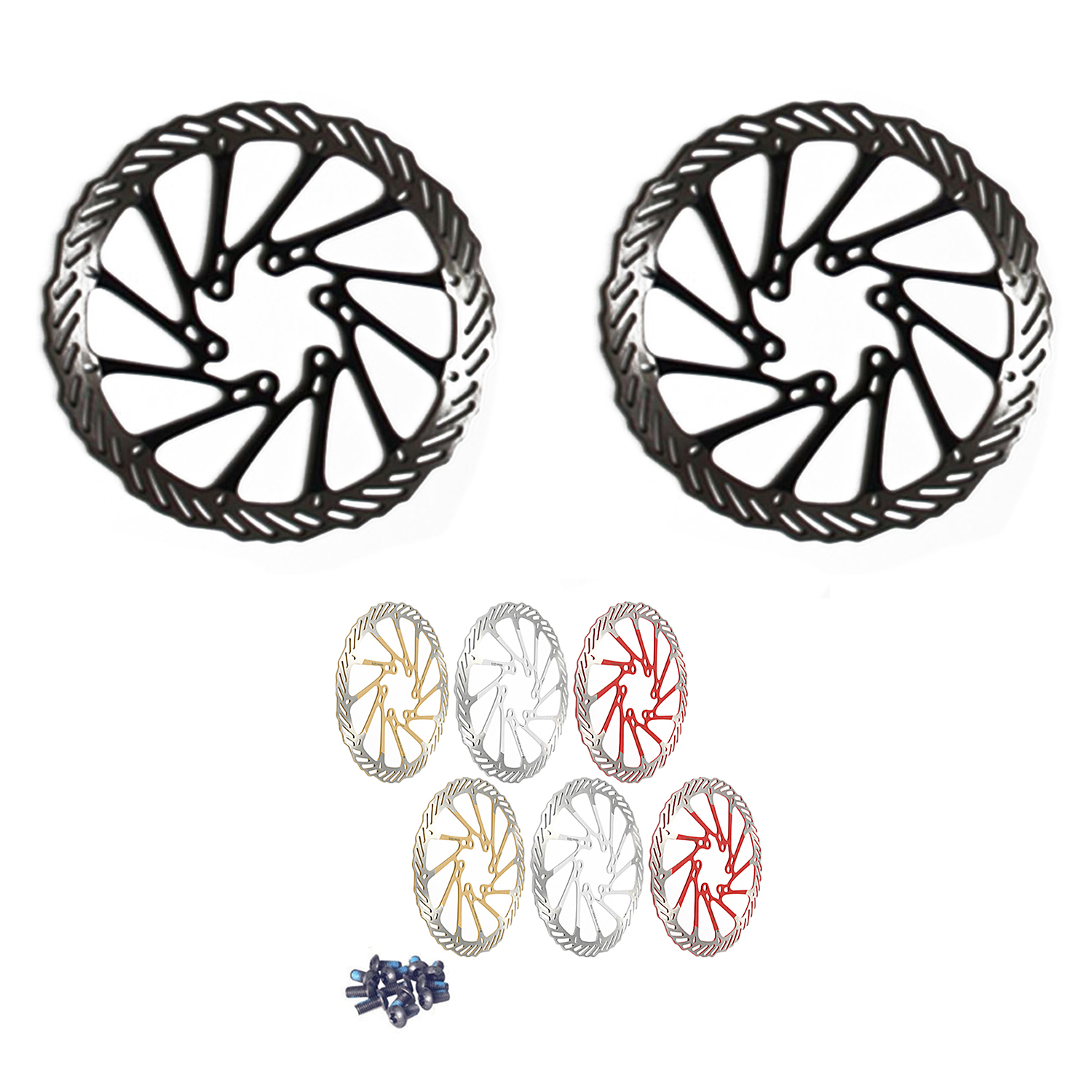 a4910b5a32f This bike brake disc on sell suitable for Avid G3. It's made of stainless  stell, great for Mountain bike. With 6pcs bolts and easy to install.