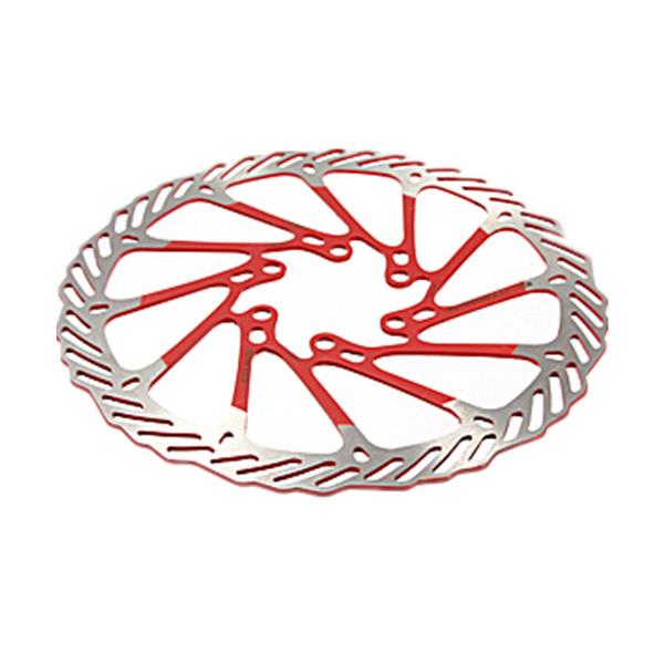 Disque de rotors en acier inoxydable de 203 mm pour pièces de vélo de croisOP