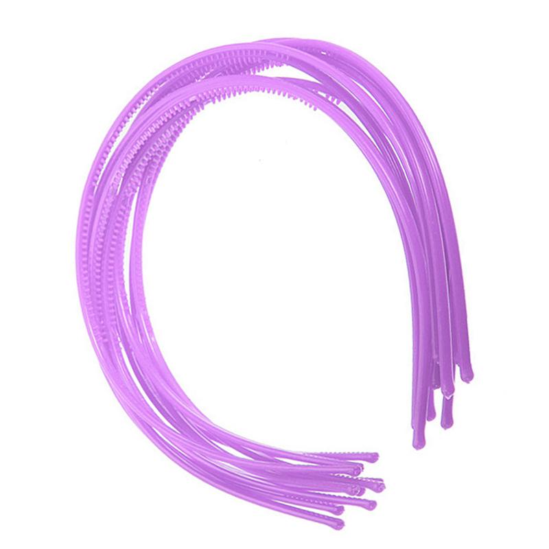 10-PCS-Serre-tete-bandeau-cheveux-accessoire-fille-femme-plastique-headband-L7W7 miniature 3