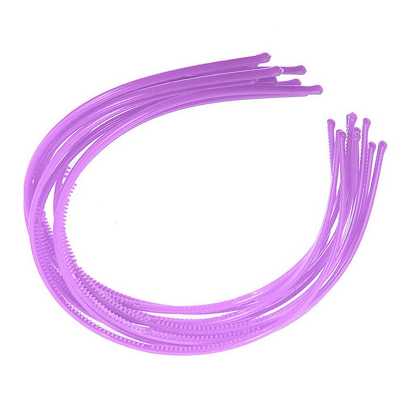 10-PCS-Serre-tete-bandeau-cheveux-accessoire-fille-femme-plastique-headband-L7W7 miniature 4