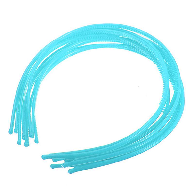 10-PCS-Serre-tete-bandeau-cheveux-accessoire-fille-femme-plastique-headband-L7W7 miniature 9