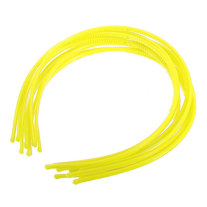 10-PCS-Serre-tete-bandeau-cheveux-accessoire-fille-femme-plastique-headband-L7W7 miniature 12