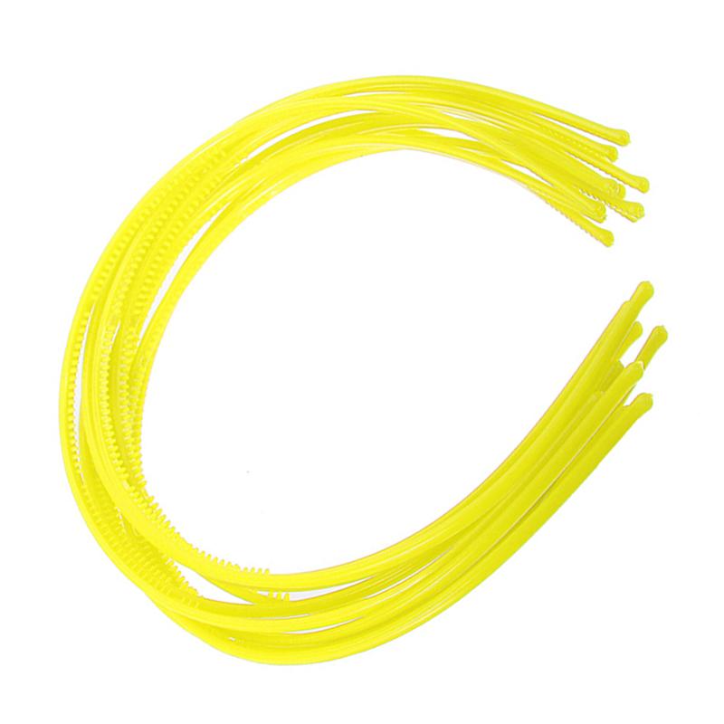 10-PCS-Serre-tete-bandeau-cheveux-accessoire-fille-femme-plastique-headband-L7W7 miniature 13