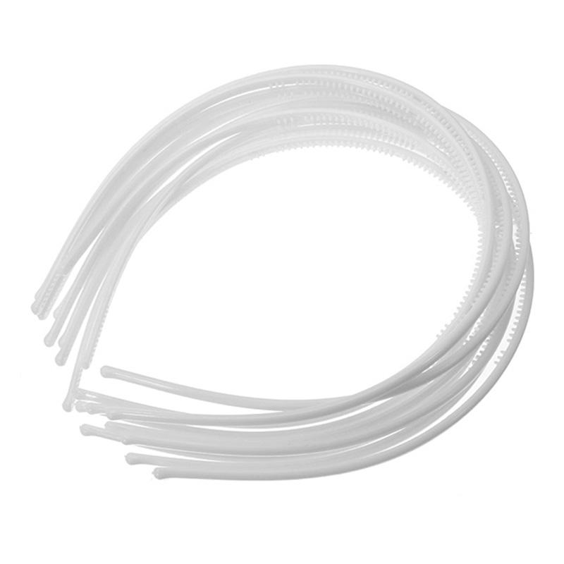 10-PCS-Serre-tete-bandeau-cheveux-accessoire-fille-femme-plastique-headband-L7W7 miniature 23