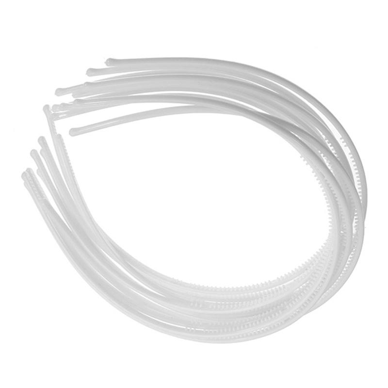 10-PCS-Serre-tete-bandeau-cheveux-accessoire-fille-femme-plastique-headband-L7W7 miniature 24