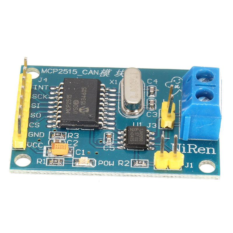 2PCS MCP2515 Controller Bus Module TJA1050 Receiver SPI Protocol for Arduino