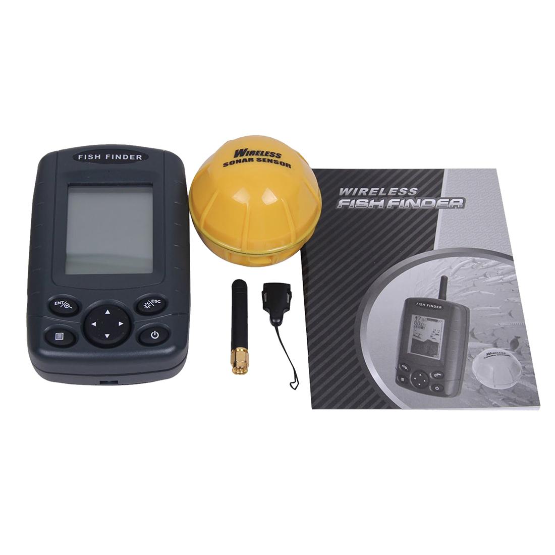Ff 002 wireless portable handheld fish finder fishfinder for Wifi fish finder