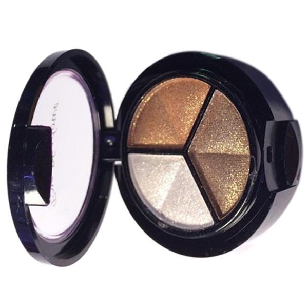 miniatuur 12 - Professional Smoky Cosmetic Set 3 Colors Natural Matte Eyeshadow Makeup Too J5E7