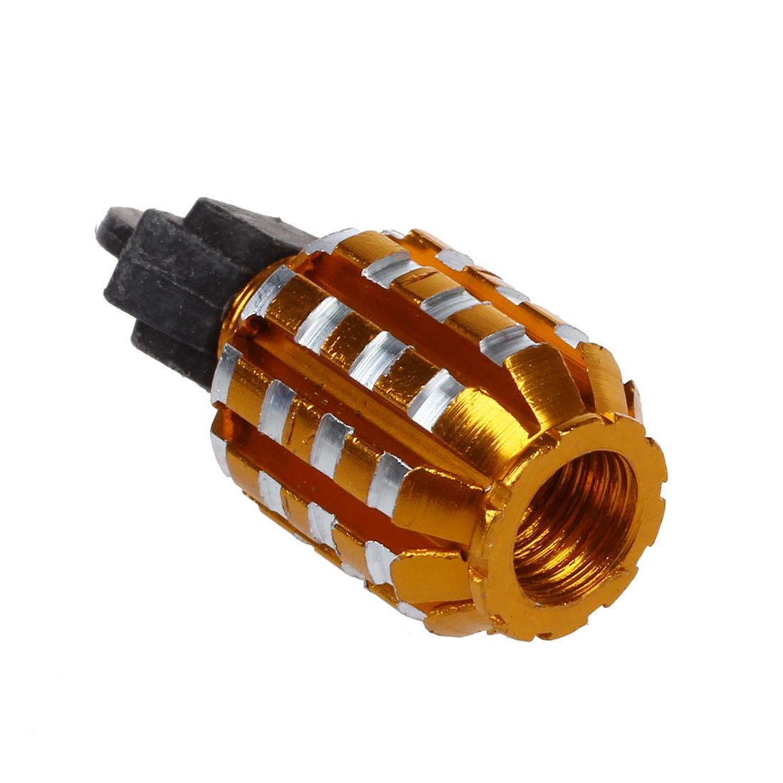 cool or en forme de grenade voiture auto pneu valve bouchons couverture wt ebay. Black Bedroom Furniture Sets. Home Design Ideas