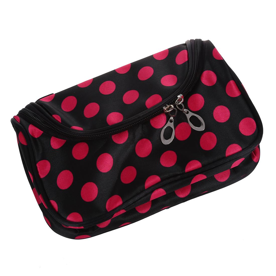 5x zipper sac cosm tique trousse de toilette avec des. Black Bedroom Furniture Sets. Home Design Ideas