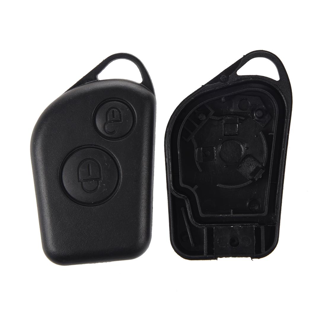 2x coque de cle telecommande voiture 2 boutons pour cetroen saxo cetroen xsara ebay. Black Bedroom Furniture Sets. Home Design Ideas