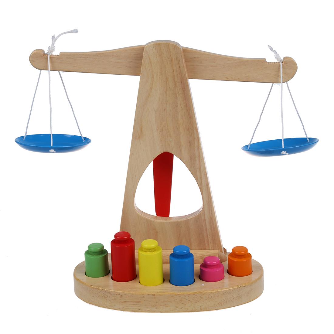 T3Y6 5X Children Kids Baby Toy Wooden Balance Toys Block ...
