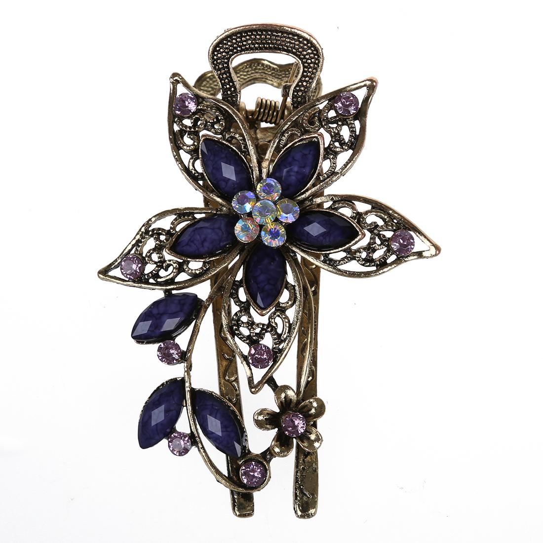 Bijoux Pour Cheveux Vintage : Belle bijoux vintage cristal barrettes des cheveux