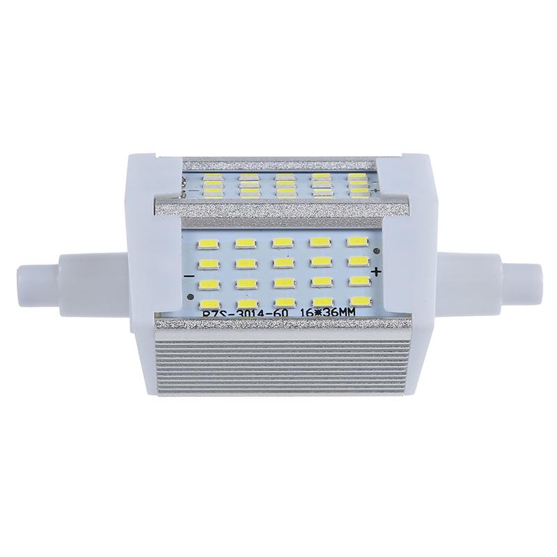 r7s 78mm 60 3014 smd led lamp 6w white light bulb lamp ac. Black Bedroom Furniture Sets. Home Design Ideas