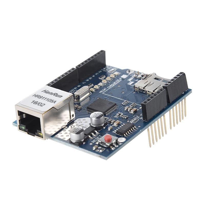 Ethernet Schild shield fuer Arduino UNO mega 1280 w5100 Y5C8