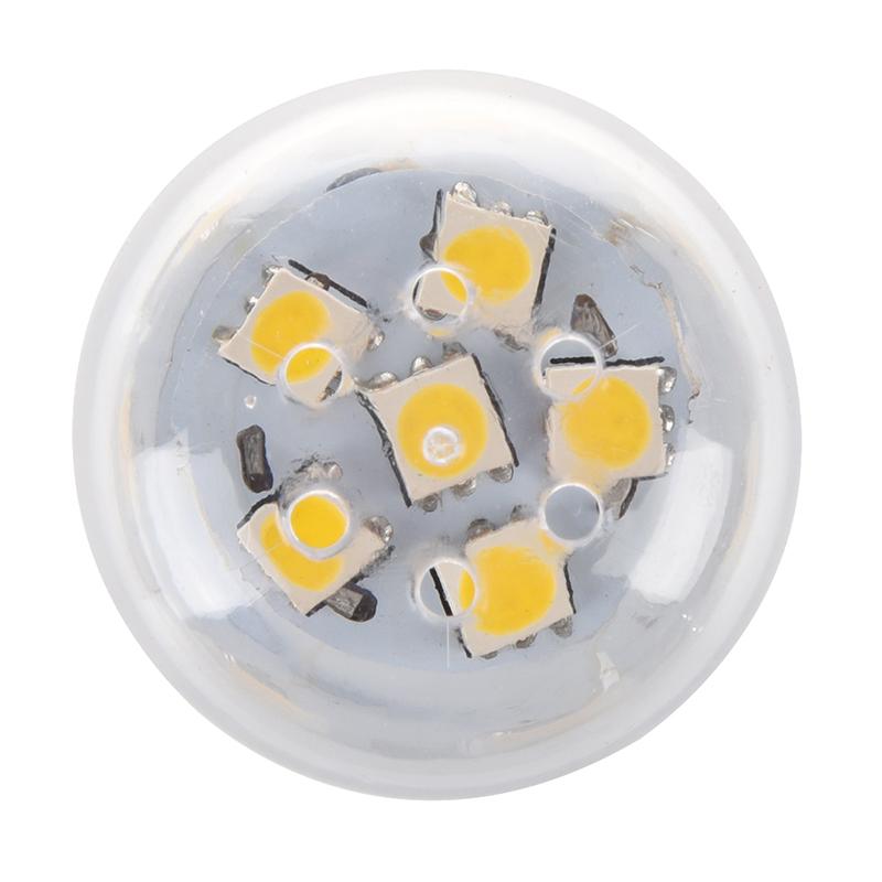 E27-5W-27-SMD5050-LED-Mais-Birne-Lampe-Beleuchtung-Leuchte-warmweiss-AC-220-J1A4 Indexbild 3