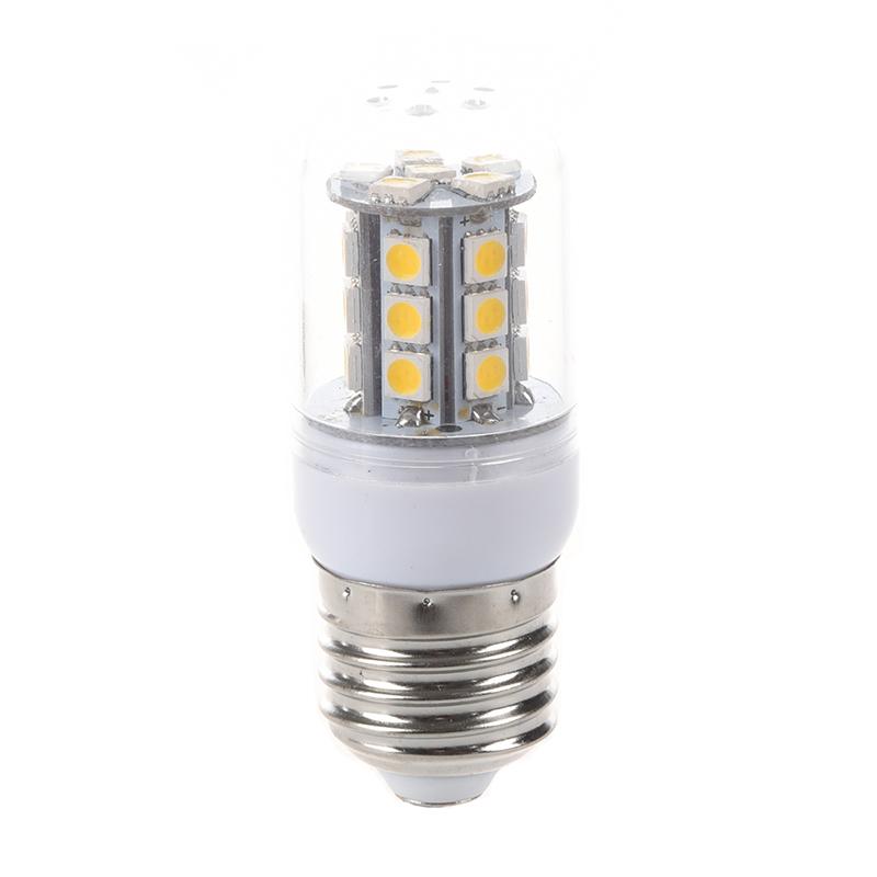 E27-5W-27-SMD5050-LED-Mais-Birne-Lampe-Beleuchtung-Leuchte-warmweiss-AC-220-J1A4 Indexbild 4