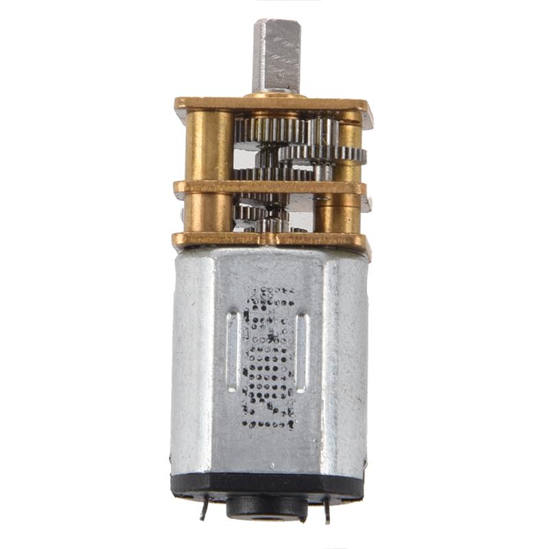 3-6V-DC-kurzer-Welle-Drehmoment-Getriebemotor-F1H4-OE