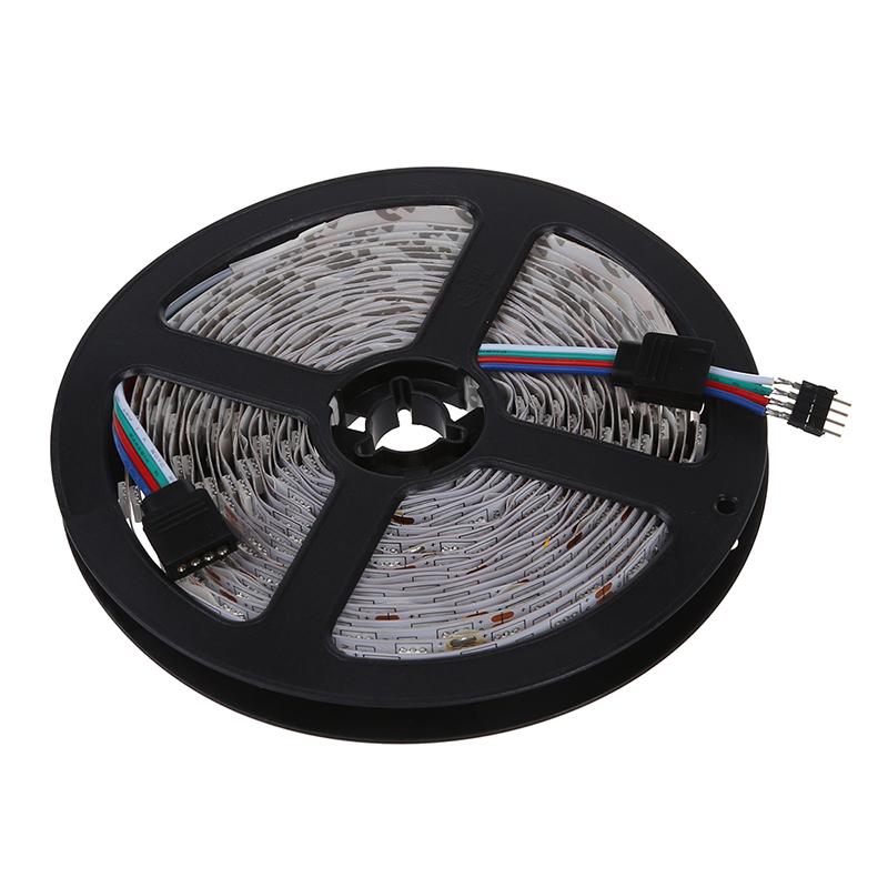20X(16.4 pies (5m) Luces de tira LED flexible - 5050 SMD 300LEDs pz - No im 6R9)