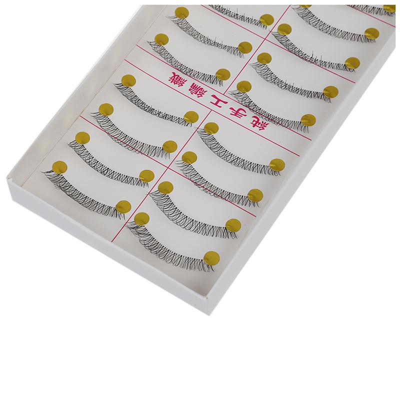 3X-10-pares-de-Pestanas-falsas-largas-regulares-naturales-reutilizables-Tip-1Y2 miniatura 5