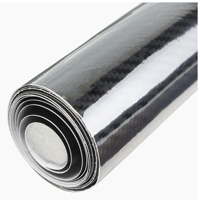 Carbon-Film-5D-152X20-Cm-Selbstklebendes-Aufkleberblatt-Car-Wrapping-Auto-M-H1C6 Indexbild 3