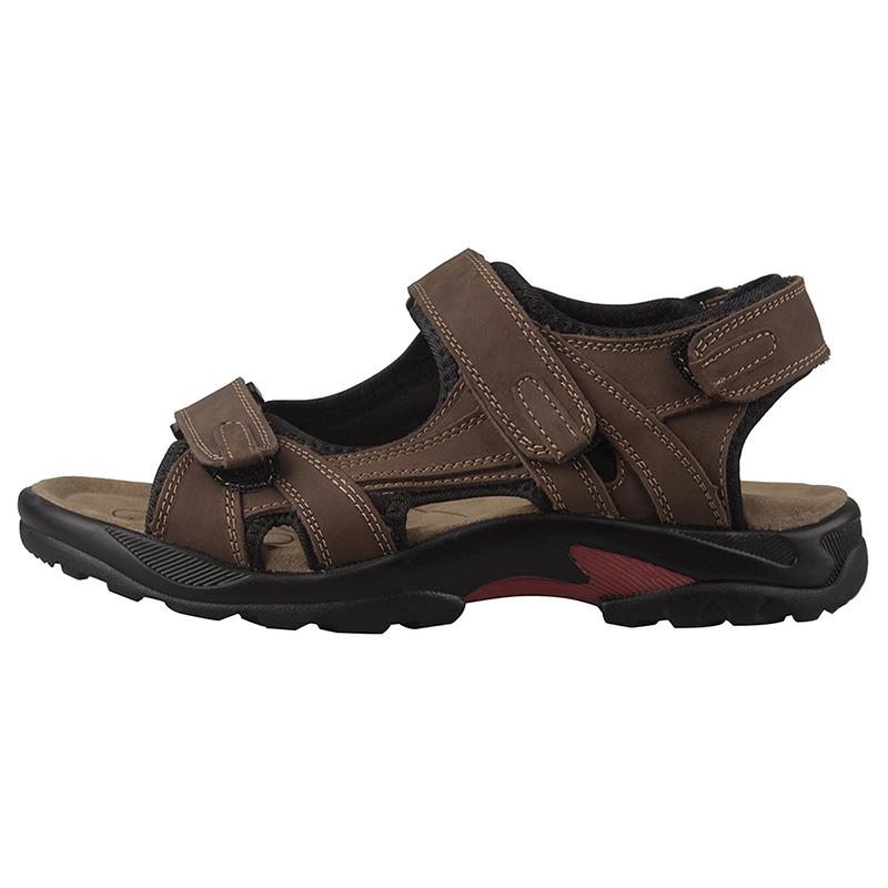 Sandale Taille Cuir Sur O7c3 Hommes 38 Sandales Homme Marron Chaussures Détails xthrBsodQC