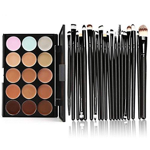 make up pinsel set palette set profi kosmetik concealer. Black Bedroom Furniture Sets. Home Design Ideas