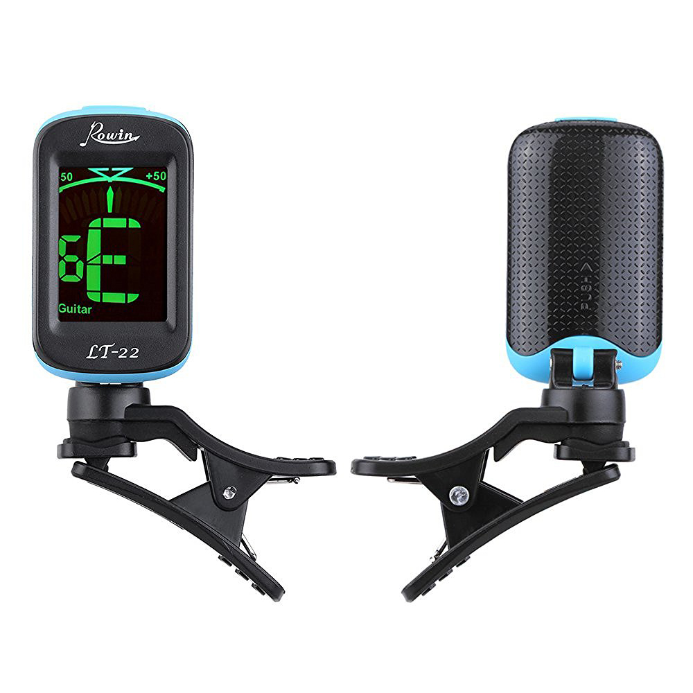 mini clip on automatic digital tone tuner lcd for acoustic electric guitar pk ebay. Black Bedroom Furniture Sets. Home Design Ideas