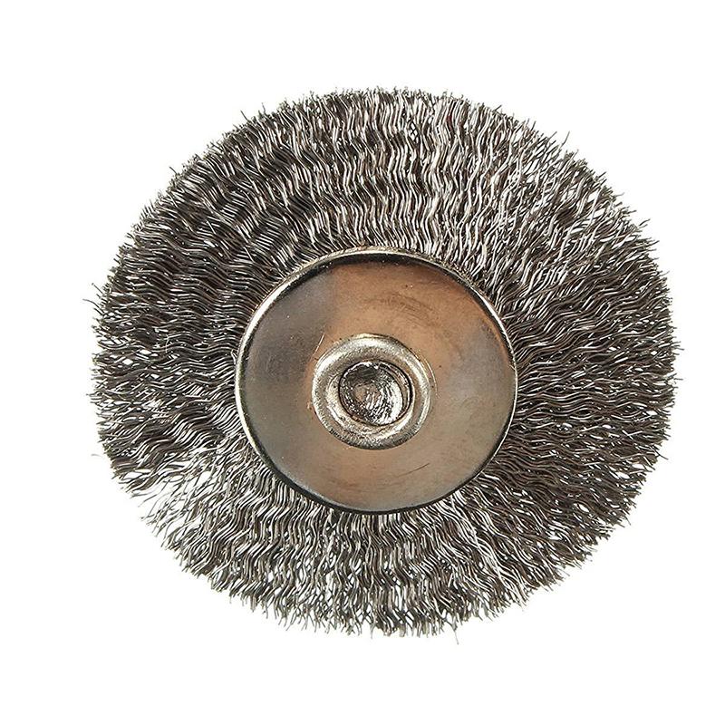 3x brosse metallique brosses pour perceuse en acier. Black Bedroom Furniture Sets. Home Design Ideas