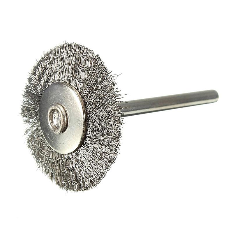 3x brosse metallique brosses pour perceuse en acier inoxydable brosse rond f7z5 ebay. Black Bedroom Furniture Sets. Home Design Ideas