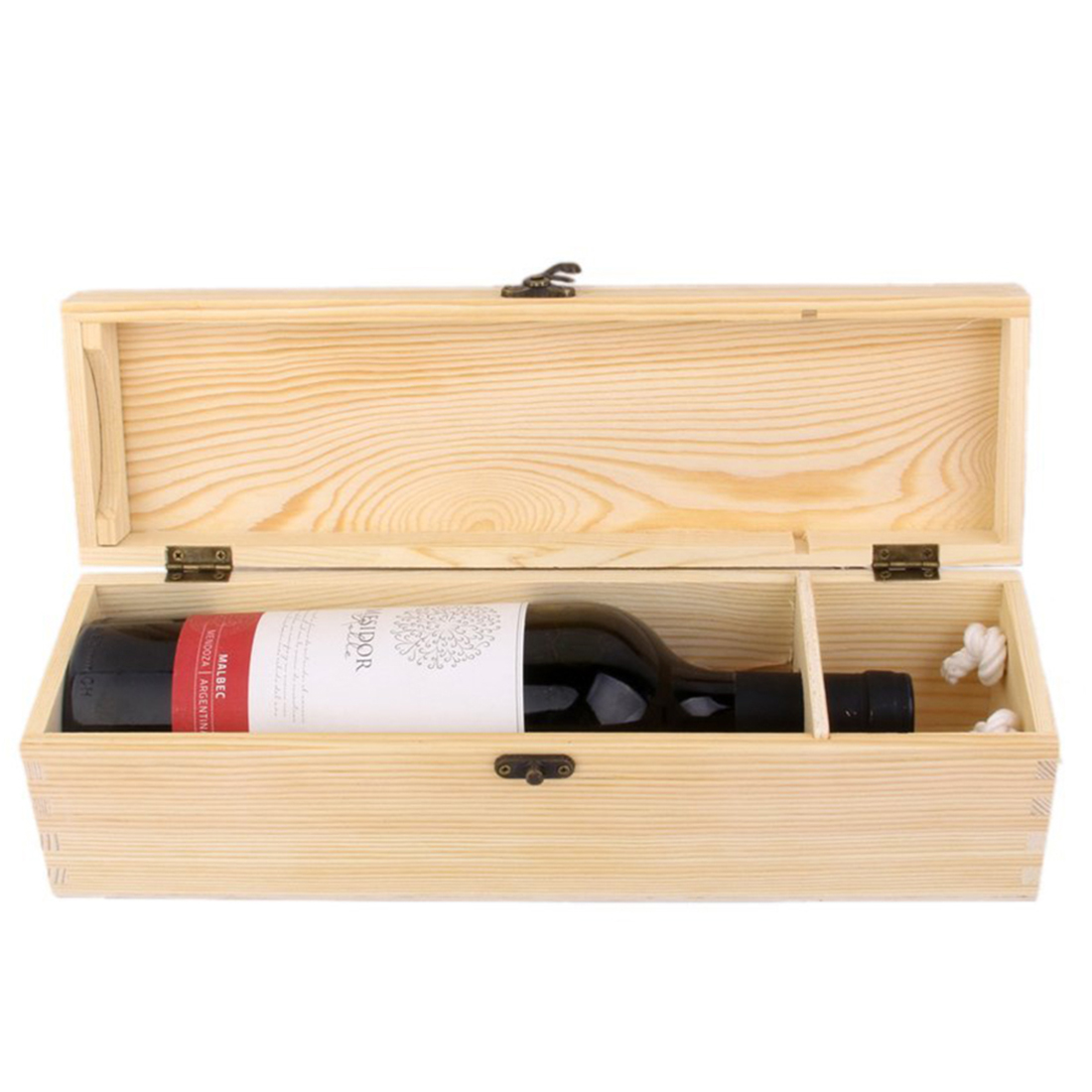 Wood Wine Box Wine Decor Best Gift H5U6 190268852289 | eBay